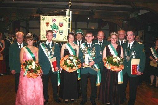 Kreisjungkönigspaare 2006